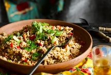 Grain, pulses and polenta