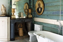 Bathrooms Can Be Pretty Too / by Carrie Pettit