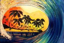 To Paint - Tropical/Water/Beach / by Kate Finn