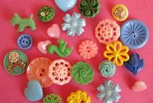 needle/scissors/pins / by Misako Mimoko eva