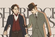 Incarnations of Sherlock / Started as a board for all things Holmes.  Kinda morphed into a BBC Sherlock board.  Eh. / by Mary Keebler