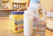 frugal living: cleaning / Saving money by making my own supplies / by Kat Alford
