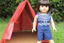 """craft: american girl / American Girl 18"""", Bitty Baby/Twin crafty-ness / by Kat Alford"""