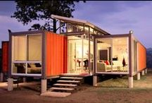 shipping container homes, cabins, studios