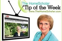 YouTube tips from TheHomeScholar / Weekly videos full of homeschool tips and answers to some of those tough questions about homeschooling high school! I do my best to share nuggets of wisdom that you can apply to your homeschool today!