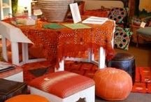 Ottomans...Benches and Other Things to Put Your Feet On / ottomans, benches, footstools