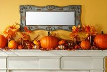 Fall Decorating DIY Ideas / DIY ideas for fall wreaths, fall mantel decorations, fall centerpieces and more. More easy fall projects: http://www.midwestliving.com/homes/seasonal-decorating/easy-fall-decorating-projects/