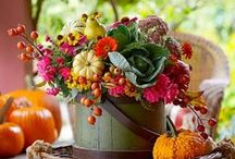 Fall Centerpieces / Our top table decorations for fall. More ideas for fall decorating: http://www.midwestliving.com/tag/fall-decorating/ / by Midwest Living