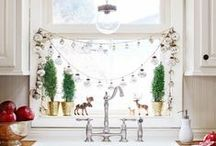Easy Holiday Decorating / Wreaths, homemade ornaments, homemade gifts, mantel decorations, tabletop ideas. Find more great holiday ideas at: http://www.midwestliving.com/tag/christmas-decorating/ / by Midwest Living