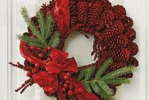 DIY Holiday Wreaths / Our Christmas wreaths are perfect for decorating indoors or out. More wreath ideas from Midwest Living: http://www.midwestliving.com/homes/seasonal-decorating/beautiful-holiday-wreaths/