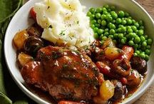 Slow-Cooker Recipes / Slow-cooker beef, pork, chicken, soups and stews get your dinner off to a fast start. Our favorite slow-cooker recipes: http://www.midwestliving.com/food/comfort/slow-cooker-recipes/ / by Midwest Living