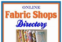 Fabric / I love shopping for fabric.  I'm always on the hunt for new patterns, trends, vendors for my Etsy shop.