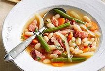 Soup Recipes and Stew Recipes / Our soup recipes include crowd-pleasers such as beef stew, corn chowder, chicken noodle soup and more. See more ideas: http://www.midwestliving.com/tag/soups  / by Midwest Living