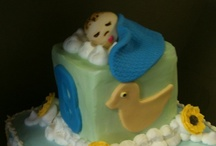 Baby Shower Cakes / Baby Shower Cakes made at Trifles www.triflescakes.com