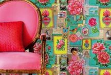 eclectic decor / by Priscilla Clark