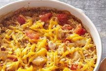 Casserole Recipes / Enjoy a main course, side dish or dessert from your oven with these favorite recipes. More casserole ideas: http://www.midwestliving.com/food/comfort/favorite-casserole-hotdish-recipes/