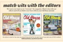 Old House Magazine Covers / by Old House Online
