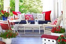 Pretty Porches & Outdoor Spaces / These porches and other outdoor spaces prove the best room in your house could be outside. More Midwest Living stories about porches and outdoor spaces: http://www.midwestliving.com/homes/outdoor-living/