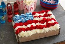 Red, White and Blue / Get out the red, white and blue for your July 4 celebrations. Find easy decorating ideas for patriotic parties as well as recipes for potlucks, picnics and more. More ideas: http://www.midwestliving.com/holidays/july-4th/