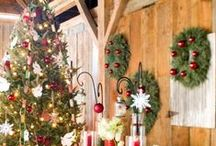 Holiday Decorating Ideas / Ideas for mantels, tabletops and more!