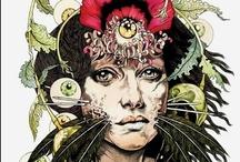 Illustrations by John Dyer Baizley