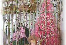Bird Dwellings and Decorations!  Cages and Houses...etc! / Bird Cage everything