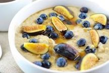 Oatmeal Makeovers / Sweet and savory oatmeal recipes for your enjoyment. This is not your Grandma's oatmeal. Meet our new take on an old favorite and transform your breakfast experience.
