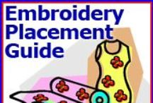 Machine Embroidery- tips,projects