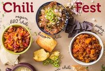 Chili Fest / Chili ideas to match any taste or bowl!