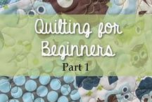 Quilting / Basics, projects, how tos