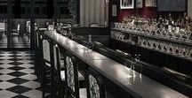 BAR INSPIRATION / HAVE A DRINK IN BEAUTIFUL SPACES...