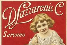 Saronno - Vintage poster / Saronno vintage Amaretto poster