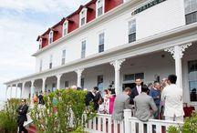 Spring House Weddings | Block Island, RI / Spring house historic wedding venue and hotel on Block Island, RI.