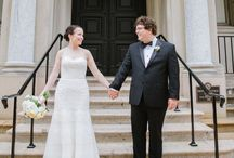 Providence Public Library Wedding | Providence RI / Historic wedding venue in downtown Providence, RI. Surrounded by books and historic charm, this wedding venue is stunning!