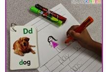 Writing / Welcome to Simply Kinder's Writing Pinterest Board. This board will contain teaching ideas, printables, art projects, curriculum, lessons, and activities for teaching calendar. Ideas are geared towards preschool (pre-k), kindergarten, and first grades!  Simply Kinder a teaching blog all about teaching kindergarten! / by Simply Kinder