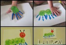 Handprint Art / Welcome to Simply Kinder's Handprint Art Pinterest Board. This board will contain teaching ideas, printables, art projects, curriculum, lessons, and activities for teaching calendar. Ideas are geared towards preschool (pre-k), kindergarten, and first grades!  Simply Kinder a teaching blog all about teaching kindergarten! / by Simply Kinder