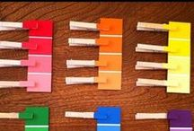 Colors / Welcome to Simply Kinder's Colors Pinterest Board. This board will contain teaching ideas, printables, art projects, curriculum, lessons, and activities for teaching calendar. Ideas are geared towards preschool (pre-k), kindergarten, and first grades!  Simply Kinder a teaching blog all about teaching kindergarten!