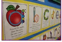 Alphabet Activities / Welcome to Simply Kinder's Alphabet Pinterest Board. This board will contain teaching ideas, printable, art projects, curriculum, lessons, and activities for teaching calendar. Ideas are geared towards preschool (pre-k), kindergarten, and first grades!  Simply Kinder a teaching blog all about teaching kindergarten!