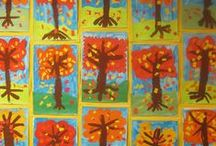 Fall / Welcome to Simply Kinder's Fall Pinterest Board. This board will contain teaching ideas, printables, art projects, curriculum, lessons, and activities for teaching calendar. Ideas are geared towards preschool (pre-k), kindergarten, and first grades!  Simply Kinder a teaching blog all about teaching kindergarten! / by Simply Kinder