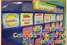 Calendar / Welcome to Simply Kinder's Calendar Pinterest Board. This board will contain teaching ideas, printables, art projects, curriculum, lessons, and activities for teaching calendar. Ideas are geared towards preschool (pre-k), kindergarten, and first grades!  Simply Kinder a teaching blog all about teaching kindergarten!