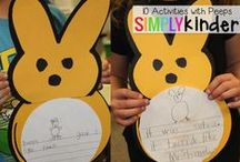 Spring / Welcome to Simply Kinder's Spring Pinterest Board. This board will contain teaching ideas, printables, art projects, curriculum, lessons, and activities for teaching calendar. Ideas are geared towards preschool (pre-k), kindergarten, and first grades!  Simply Kinder a teaching blog all about teaching kindergarten!