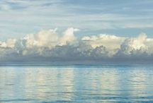 sea + sky ☁ ~ / A board about the sky & sea & sailing. :) / by Magali Vaz