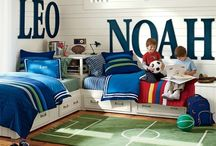 Boys' Bedroom / Ideas for the Lukas & Levi's bedroom.