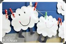 Weather / Weather Pinterest Board. This board will contain teaching ideas, printables, art projects, curriculum, lessons, and activities for teaching calendar. Ideas are geared towards preschool (pre-k), kindergarten, and first grades!  Simply Kinder a teaching blog all about teaching kindergarten!