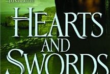 Hearts And Swords / December 2011 Story Collection set on Celta: Discovery of Celta; Blush Willow's story; Genista Furze Holly's story; Walker Clover's story (the Clovers get a Noble Title)