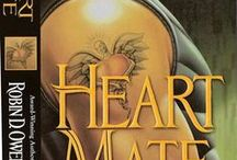 """HeartMate / First in the """"Heart"""" book series, fantasy romance featuring animal companions, mostly cats with attitude (redundant)"""