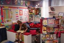 Classroom Photos / Welcome to Simply Kinder's Inspiring Classroom Spaces Pinterest Board. This board will contain teaching ideas, printables, art projects, curriculum, lessons, and activities for teaching calendar. Ideas are geared towards preschool (pre-k), kindergarten, and first grades!  Simply Kinder a teaching blog all about teaching kindergarten!