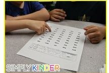 Decoding & Fluency / Welcome to Simply Kinder's Decoding and Fluency Pinterest Board. This board will contain teaching ideas, printables, art projects, curriculum, lessons, and activities for teaching calendar. Ideas are geared towards preschool (pre-k), kindergarten, and first grades!  Simply Kinder a teaching blog all about teaching kindergarten!