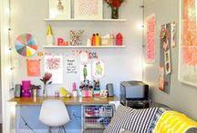 workspaces ~ / Inspirational desks, workspaces & studios.