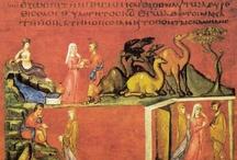 Illumination: 6th Century / Illumination ideas for a 6th century illuminated page